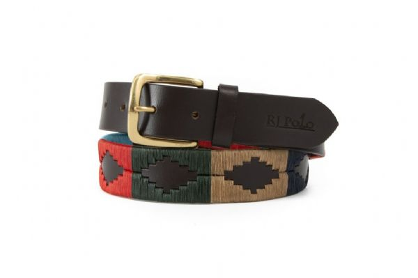 Belt (Red/Navy/Olive Green/Cream) 35mm